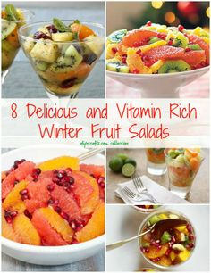 8 Delicious and Vitamin Rich Winter Fruit Salads – DIY & Crafts