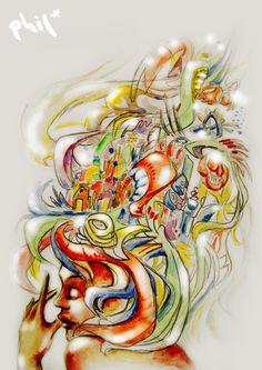 New work by Philipp Mulfinger / artkeepsmealive.blogspot.de
