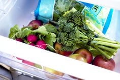 Get organized: Simplifying and constantly cleaning out your fridge will help you on your weight-loss journey.