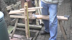 This film provides the key measurements for you to make your own shave horse for green woodworking, and similar craft. The shave horse is essentially a power...