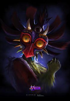 Legend of Zelda: Skull Kid - Jorge Munoz Silva