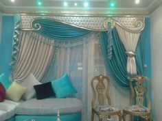 Looking to spice up your home decor? Contact window treatment experts in Calgary for much better result today! Elegant Curtains, Beautiful Curtains, Curtain Decor, Stylish Curtains, Paris Themed Room, Home Curtains, Diy Curtains, Curtain Designs, Layered Curtains