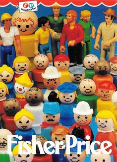 Fisher price Little people ancienne affiche #jouet #vintage Jouets Fisher Price, Fisher Price Toys, Vintage Fisher Price, 90s Childhood, Childhood Memories, Toy Packaging, Animal Cupcakes, Toy Display, Classic Toys