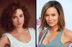Jennifer Grey - Made famous for her moves in 'Dirty Dancing' Jennifer Grey became a household name in the 1980s. Sadly, her career came to a halt after a routine rhinoplasty left her unrecognizable. While she did secure parts in smaller roles, her career never took off again.