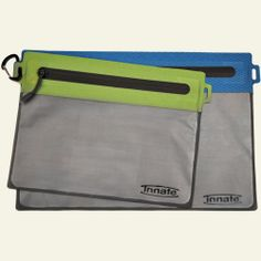 Innate Zipper-Baggie Replacements, Full Window, Set of 2, Green and Blue. Another fabulous eco-idea!