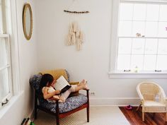 I am making that tassel wall decoration!      it's the little things: homestead // our ritual of following light