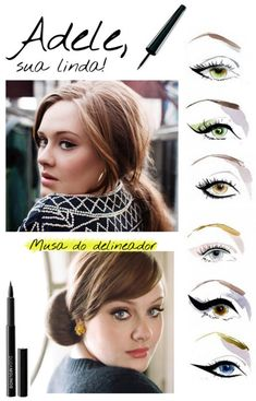 Eyeliner inspired by Adele