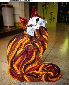 Mosaic Kitty Cat...