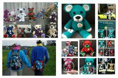 De beren als mascotte voor de 100 ste vierdaagse voor St. Ambulance Wens Nederland