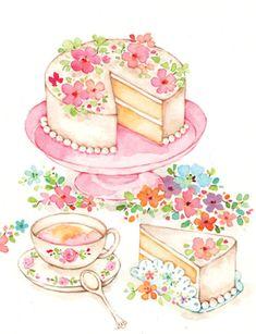 Liz Yee - Female Birthday Cake 2