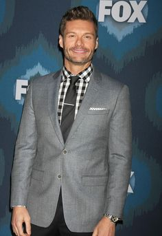 Ryan Seacrest is already making plans for the post-American Idol era. Ryan Seacrest, Handsome Man, American Idol, Suit Jacket, Hilarious, Celebs, Blazer, Books, Fashion