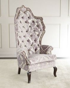Haute House Antoinette Lilac Tufted Chair