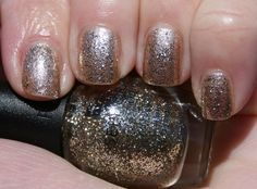 Sephora by OPI Rags to Rhinestones over Self Maid Millionaire