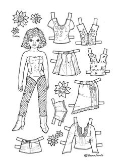 Karen`s Paper Dolls: Julie