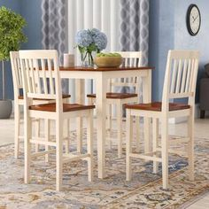 Looking for Quinlan Solid Wood Dining Set Andover Mills ? Check out our picks for the Quinlan Solid Wood Dining Set Andover Mills from the popular stores - all in one. Solid Wood Dining Set, 5 Piece Dining Set, Kitchen Dining Sets, Dining Room Sets, Brunch Table Setting, Counter Height Pub Table, Breakfast Nook Dining Set, Wood Table Bases, Pub Table Sets
