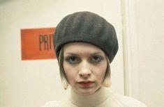 Twiggy, 1968. #twiggy #1960s #beret
