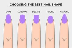 Which nail shape do you prefer?