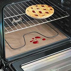 Awesome kitchen gadget - Non-Stick Oven Liner. One of the best things I picked up for my oven!