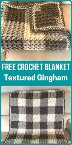 Easy Crochet Blanket, Crochet Quilt, Knit Or Crochet, Crochet Crafts, Crochet Projects, Afghan Blanket, Beginner Crochet Blankets, Crochet For Beginners Blanket, Crocheted Blankets