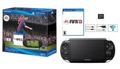Al igual que con la nueva edición del PS3, también habrá un Bundle con el juego de FIFA 13 para el PS Vita en Latinoamérica.