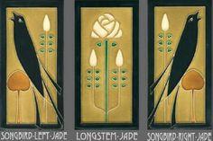 Motawi Tile And Framed Motawi Tiles