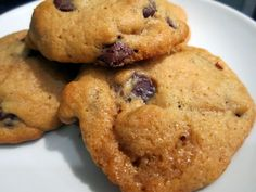 Sophie in the Kitchen: Cream Cheese Chocolate Chip Cookies