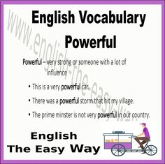 English Vocablary _______ is very powerful. 1 My boss 2. The wind 3. both  #Vocabulary