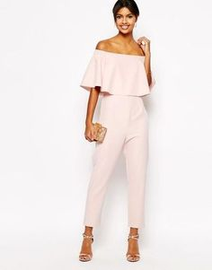 Hot Sale White Lace Bardot Jumpsuit - 10 / WHITE I Saw It First Free Shipping Low Price Official Site Best Place To Buy Online Looking For Cheap Online 1KOWWU9bWO