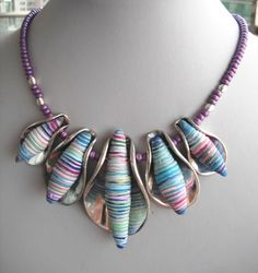 """this is kind of cool with the beads """"wrapped"""""""