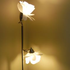 Diy paper flower light tutorial diy paper tutorials and flower diy replacement lamp shades i bought a floor lamp without shades at a thrift store mightylinksfo Gallery