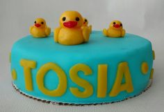 Duck cake for two year old girl :)
