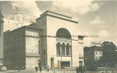 BU-F-01073-5-05582-11 Teatrul comunal din Timişoara, 1939 (niv.Document) Romania, Louvre, Building, Travel, Viajes, Buildings, Destinations, Traveling, Trips