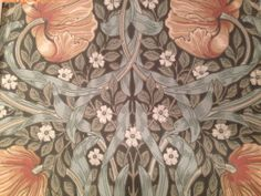 Tapet William Morris pimpernel