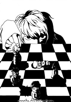 Checkmate by annaky @ deviantart.com  - I really like the idea and perspective.