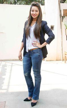 Asha Negi at the Khartron Ke Khiladi 6 contestant introduction. #Bollywood #Fashion #Style #Beauty