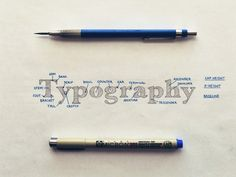 Typographic Terms for Hand Lettering Artists http://seanw.es/c1ug