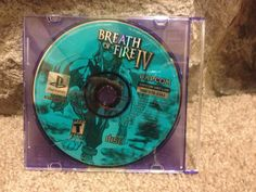Breath of Fire IV 4   PS1 Playstation game RPG