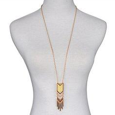 Srongstore Long Necklace Bohemian Tassel Pendant Necklace...
