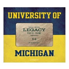 Legacy Athletic Michigan Wolverines 4 x 6 Dreams Photo Frame, Multicolor