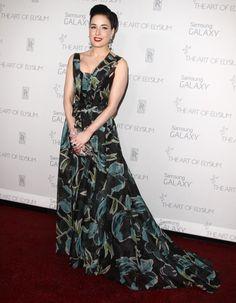 35a09097f81b Dita Von Teese in Carolina Herrera Celebrity Red Carpet