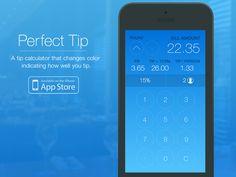 tip calculator dailyui 004 ui ux design pinterest