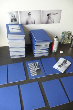 Blue Zines for Offprint.