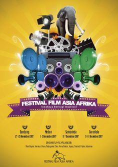 festival film asia afrika by AancooL.deviantart.com on @deviantART