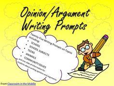 argument essay subjects