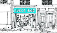 BOB'S JUICE BAR PARIS - Place to detox with fresh juices, veggie sandwiches, soups and salads
