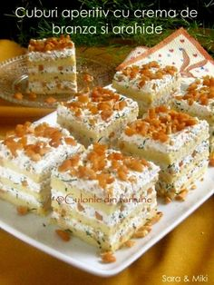 Finger Food Appetizers, Finger Foods, Appetizer Recipes, Cubes, Tasty, Yummy Food, Tiramisu, Carne, Tea Time