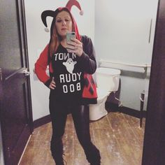 Rural has the best bathroom for selfies. For Halloween I am not your boo.  by magneticfeels