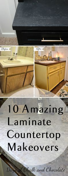 how to paint laminate countertops | painted laminate countertops