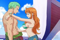 Zoro x Nami animation