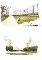 Grand parc - aménagement paysager